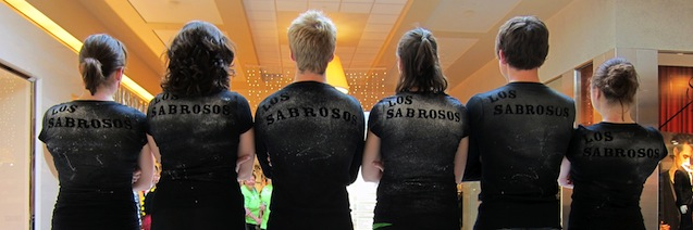 Check out the awesome dancing crew of Los Sabrosos Dance Co.