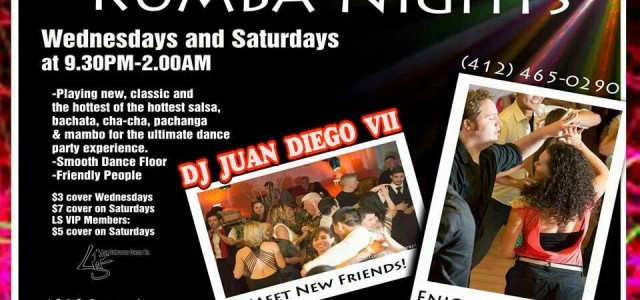 The ultimate salsa night experience! Every Wednesday and Saturday!