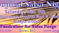 Burn it up in December for a great cause! Fundraiser for Salsa Fuego Performances, tropical food and tropical drinks! Saturday, December 6th, 2014 9:30pm-2:00am Cover: $10 4909 Penn Ave. www.lspgh.com