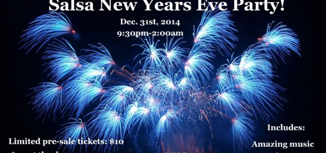 Dance your way into the new year! Salsa New Years Eve!