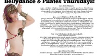 Bellydance and Pilates classes for kids and adults!