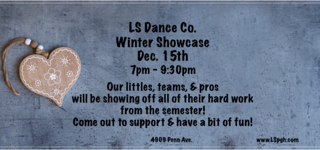 Join us for an evening of open dance & performance! Our winter showcase will present several Latin teams, a tribal fusion bellydance troupe EvilEye, class performances of our little ones, […]