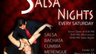 Every Saturday! Salsa, Bachata, Kizomba, Cha-Cha & More!