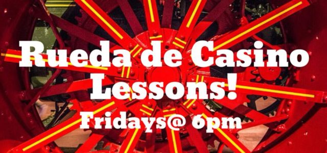 We are excited to start teaching Casino Rueda at our studio! A four-week progressive course that will go over the different techniques, moves, and calls of many different Rueda movements. […]