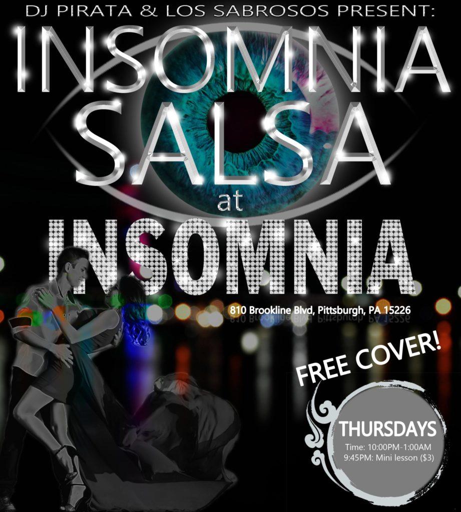 salsa nights, bachata night, salsa club, bachata club, insomnia, places that have dancing, salsa pittsburgh, arthur murray