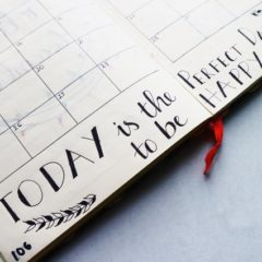 calendar, today is the perfect day to be happy