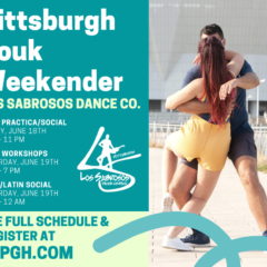 zouk, tango, brazilian zouk, latin dancing, weekender, weekend of dancing, salsa pittsburgh, arthur murray