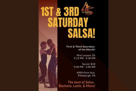 Permalink to:1st & 3rd Saturday Salsa Nights!
