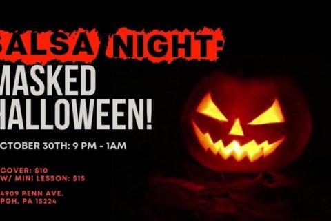 Permalink to:SALSA NIGHT: Masked Halloween!